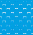 wooden table pattern seamless blue vector image