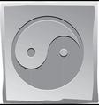 Yin And Yang Symbol vector image vector image