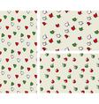 italian color pattern set vector image