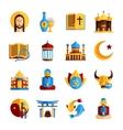 Religion Icon Set vector image