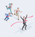business people concepts for success vector image