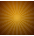 abstract retro gold background vector image vector image