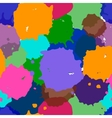 abstract watercolor mix colors vector image vector image