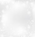 christmas snow flake 1 vector image vector image