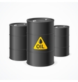 Oil Barrel Drums vector image