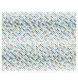 Retro polka dots not ending background vector image vector image