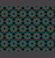 seamless pattern decorative symmetries ornament vector image