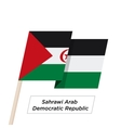 Sahrawi Arab Democratic Repablic Ribbon Waving
