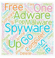 Are YOU one of the 90 Affected by Spyware or vector image vector image