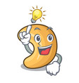 have an idea roasted cashew nuts isolated on vector image