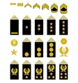 Insignia of the iranian army vector | Price: 1 Credit (USD $1)