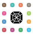 isolated gem icon crystal element can be vector image vector image