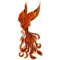 phoenix13 vector image vector image
