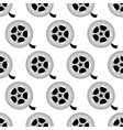 reel with film pattern vector image