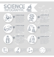 Science Infographic Set vector image vector image