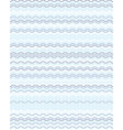 seamless blue wavy lines vector image