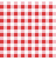 seamless table cloth texture red color textile vector image vector image