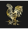 a cock vector image vector image