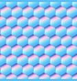 blue cell seamless pattern vector image