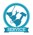 Design for service vector image vector image