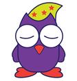 Sleep Owl vector image