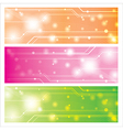 sweet technology background vector image vector image