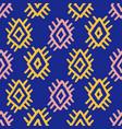 tribal southwestern navajo seamless pattern vector image vector image