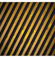 yellow caution stripes vector image vector image