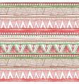 Ethnic boho seamless pattern Tribal art print vector image