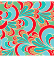 abstract bright seamless patterns vector image