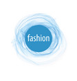 abstract logo for fashion of vector image