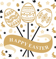 easter bouqet vector image