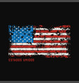 estados unidos t-shirt and apparel design with vector image