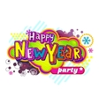 New Year Party banner vector image vector image