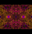 space psychedelic trippy abstract texture bright vector image vector image