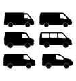 vans on white background vector image vector image