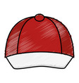 courier cap uniform icon vector image vector image