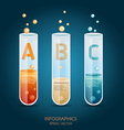 Creative Template with capsule banner vector image