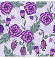 seamlesss Floral pattern vector image vector image