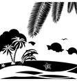 Seashore vector image vector image