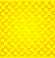 Bright yellow abstract shapes background texture vector image vector image