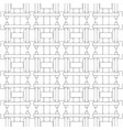 geometric abstract striped seamless pattern black vector image vector image