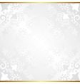 glossy background with vintage pattern vector image