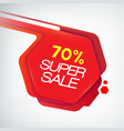 modern creative sale poster vector image vector image