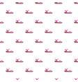 pink sandal pattern seamless vector image