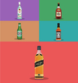 Top-Alcohol-Brands vector image