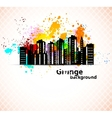 Urban grunge background vector image