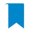 bookmark icon logo vector image vector image