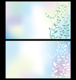 flover background vector image vector image
