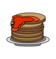 food cartoon flat vector image